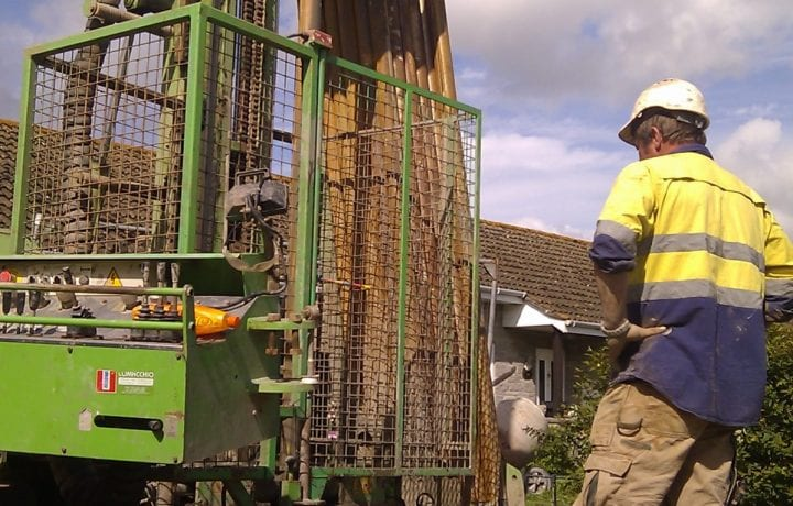 Ground Source Review: Yarlington - ground source heat pumps borehole drilling