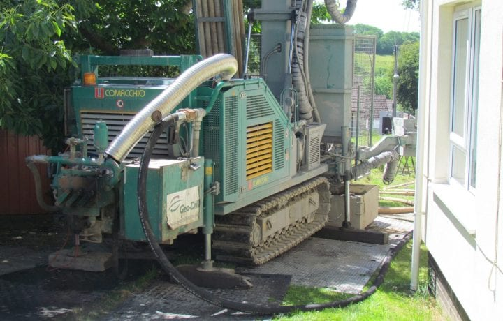 Ground Source Review: Croft House - Drill for Borehole