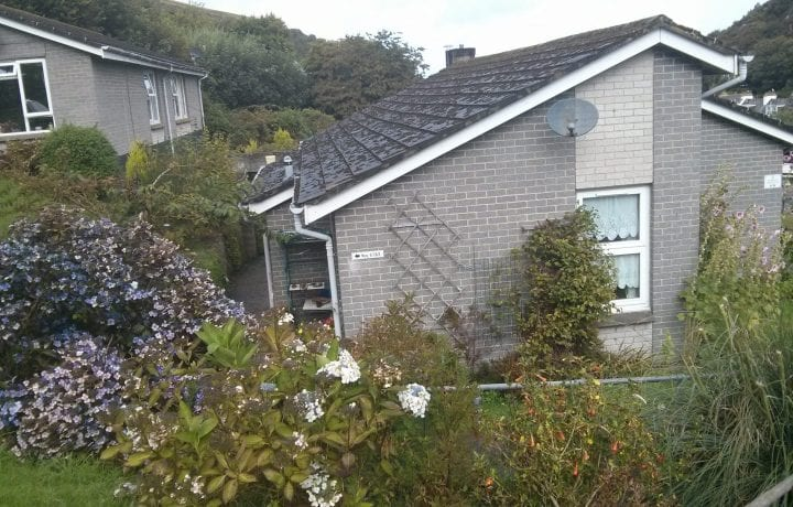 Ground source Review North Devon Homes, Rock Park ǀ Exterior of Bungalow