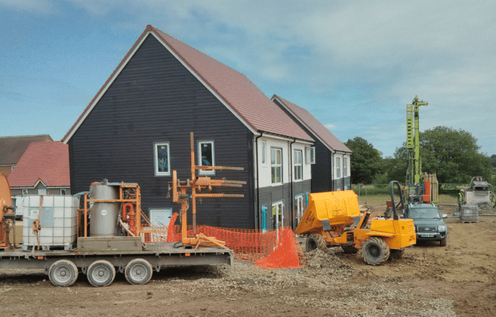Ground Source Review: Shropshire Rural Housing, Kinlet - On-site