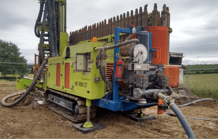 Ground Source Review: Shropshire Rural Housing, Kinlet - Drilling