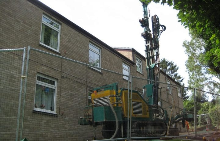 Ground Source Review:Hanover, Ashfield Court flats