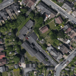 Ground Source Review: Hanover, Ashfield Court - Aerial View