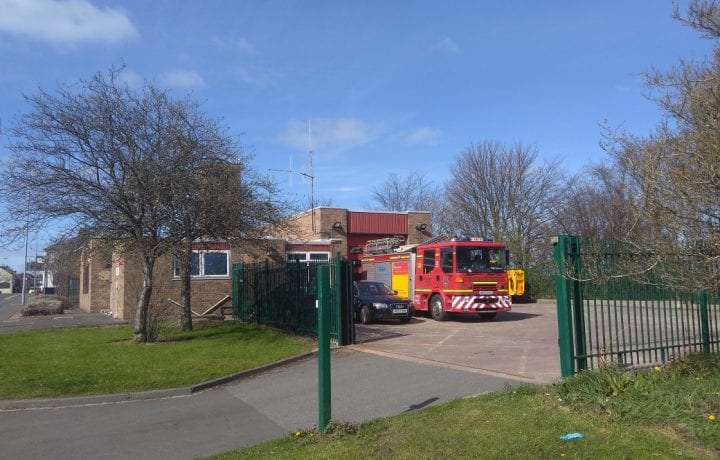 Ground Source Review:Northumberland Fire & Rescue Service: Northumberland Fire Station