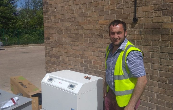 Ground Source Review: Northumberland Fire Stations - Paul Mooney with heatpump