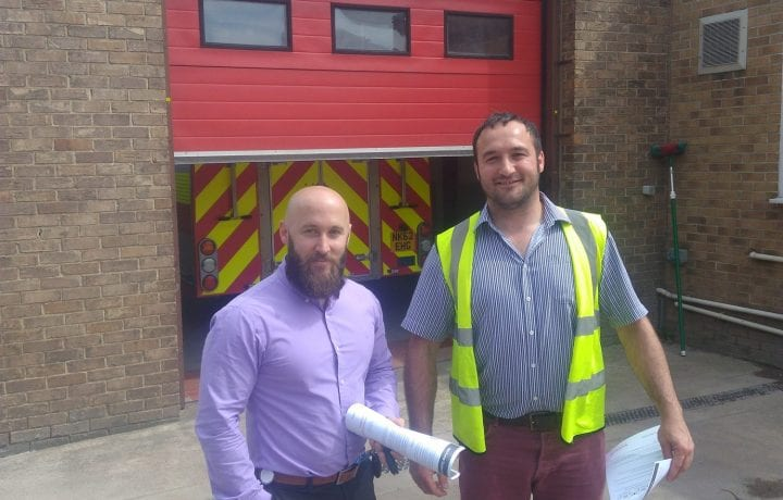 Ground Source Review: Northumberland Fire Stations - Paul Mooney (Oakes) and Phil Barry (Fire)