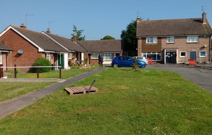 Ground Source Review: South Shropshire Housing Association - completed borehole