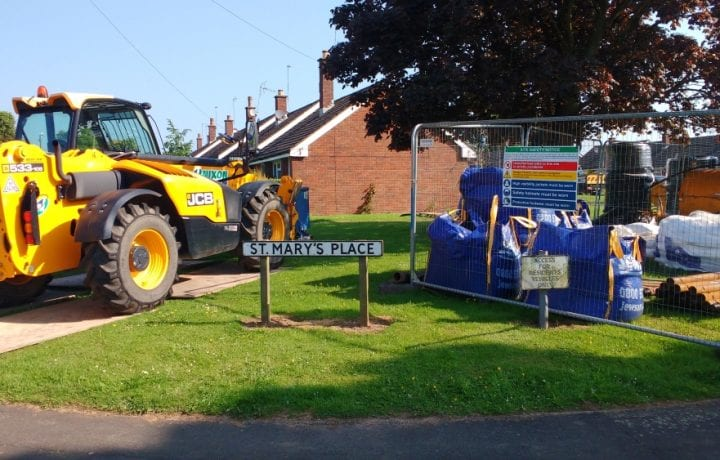 Ground Source Review: South Shropshire Housing Association - GSHP installation