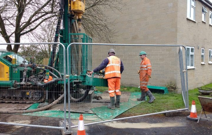 Ground Source Review Bromford, The Pleydells: Borehole Drilling