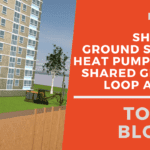Tower Blocks - Shoebox Ground Source Heat Pumps with Shared Ground Loop Arrays Video