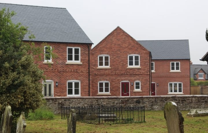 Ground Source Review:Shropshire Rural Housing, Llanymynech: Rural houses