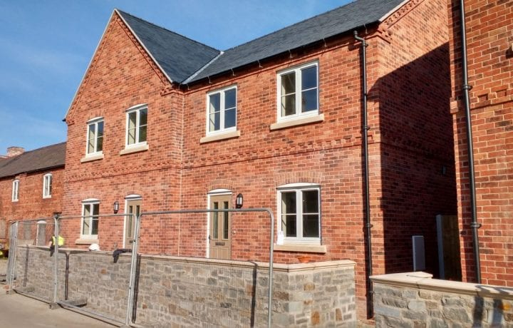 Ground Source Review:Shropshire Rural Housing, Llanymynech: 6 New build (Family Homes)