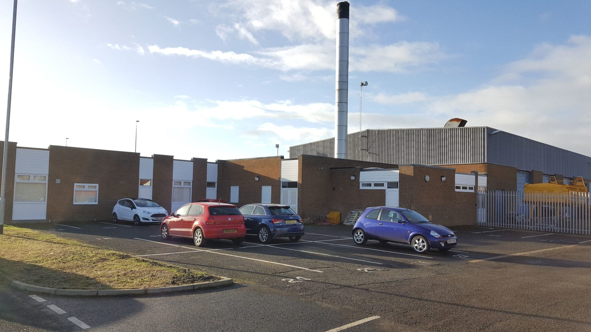 Stakeford Depot Kensa Commercial Plant Room Ground Source Heat Pump Retrofit Installation