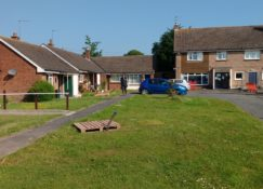 Ground Source Review South Shropshire Housing Association - completed borehole