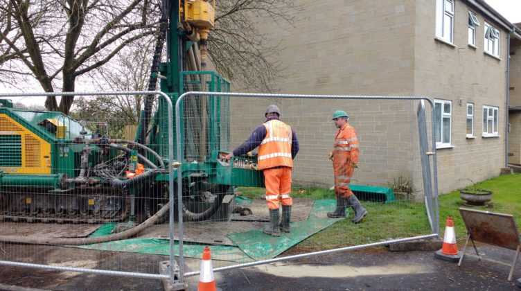 Ground Source Review Bromford, The Pleydells: Borehole Drilling 2