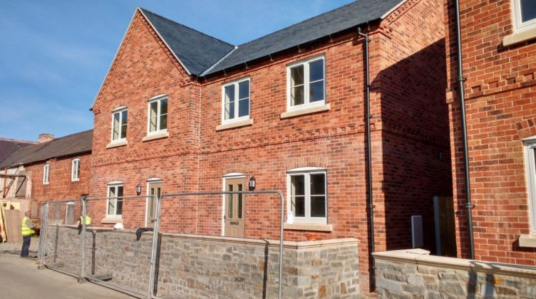 Ground Source Review:Shropshire Rural Housing, Llanymynech: Houses 3