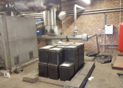 Stakeford Depot Boiler Room Before Ground Source Heat Pump Installation