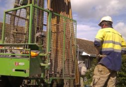 Yarlington ground source heat pumps borehole drilling