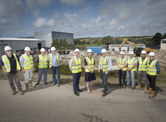 Visit from MP Sarah Newton to new Kensa heat pumps factory