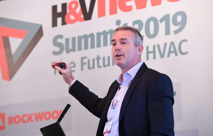 Matt Trewhella presents at The Future of HVAC Summit - 2019