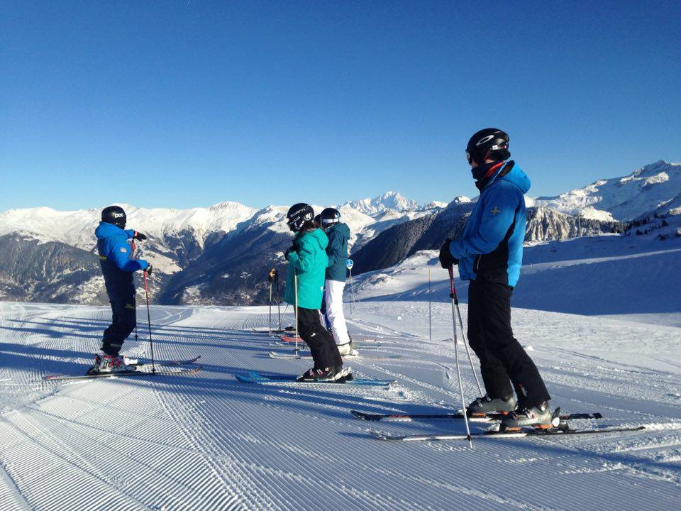 snow conditions in the Alps