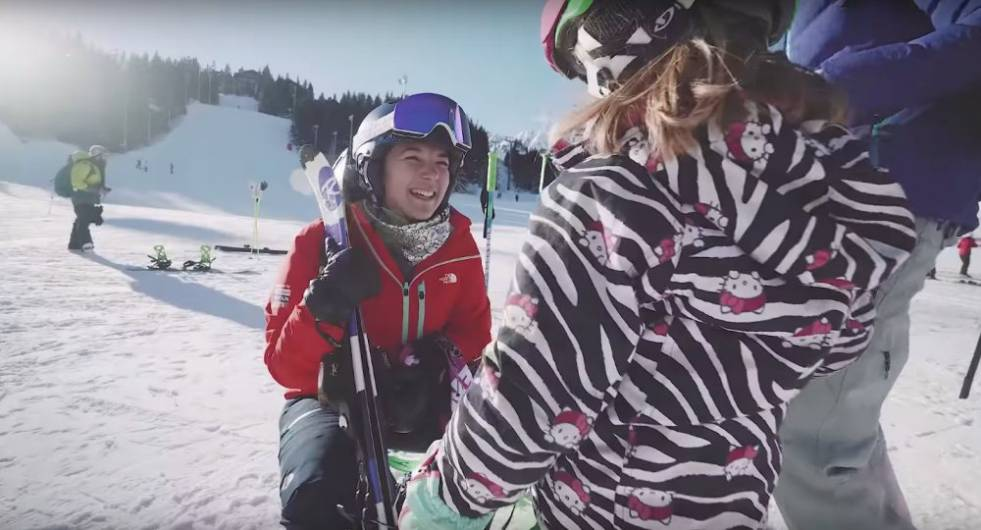what age should children start skiing