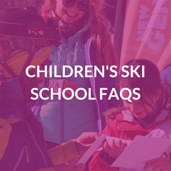 Children's Ski Lessons FAQs