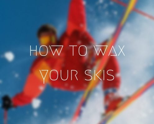 How to wax your skis