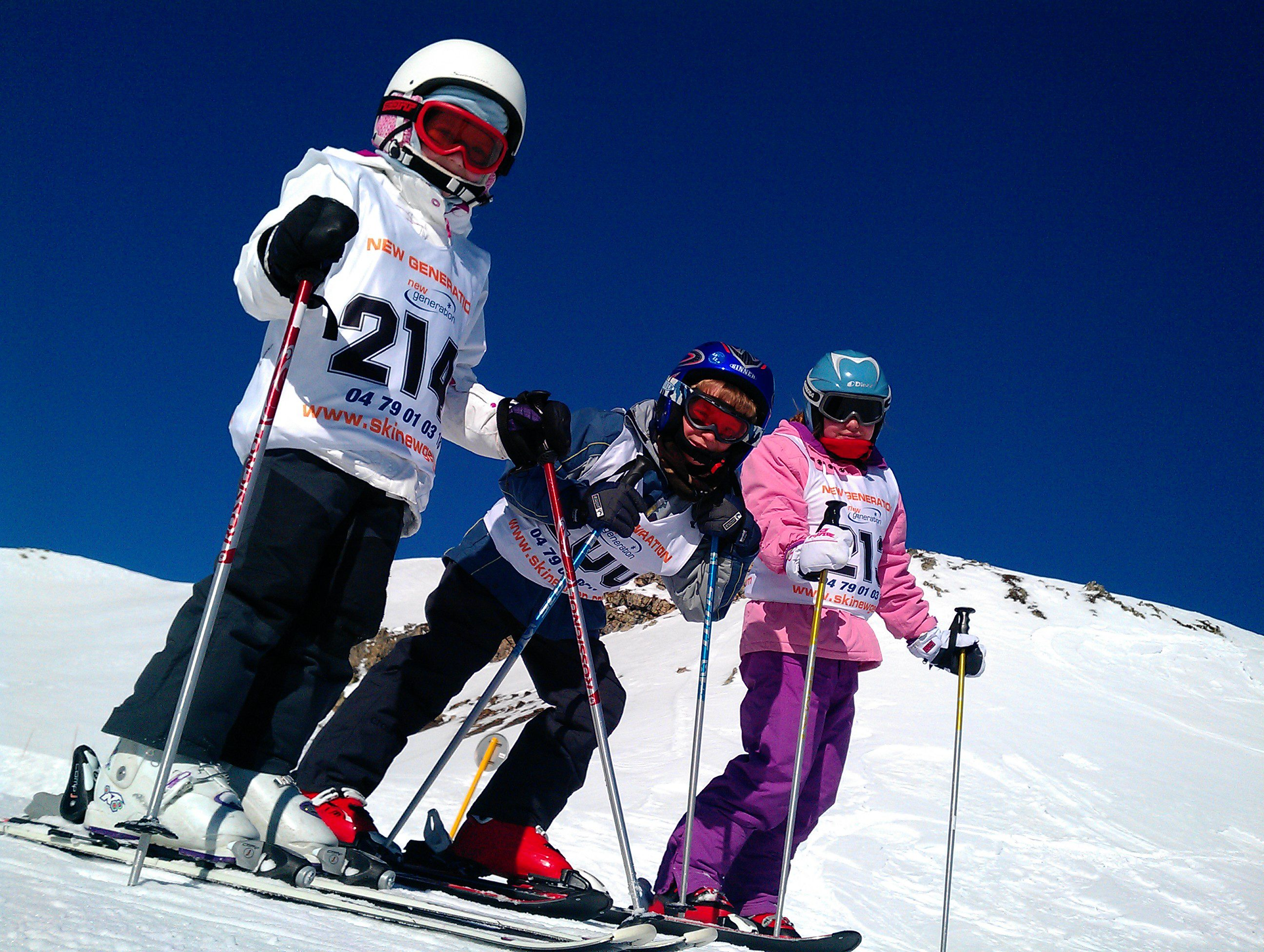 Happy kids on a ski holiday - starts with the right kit