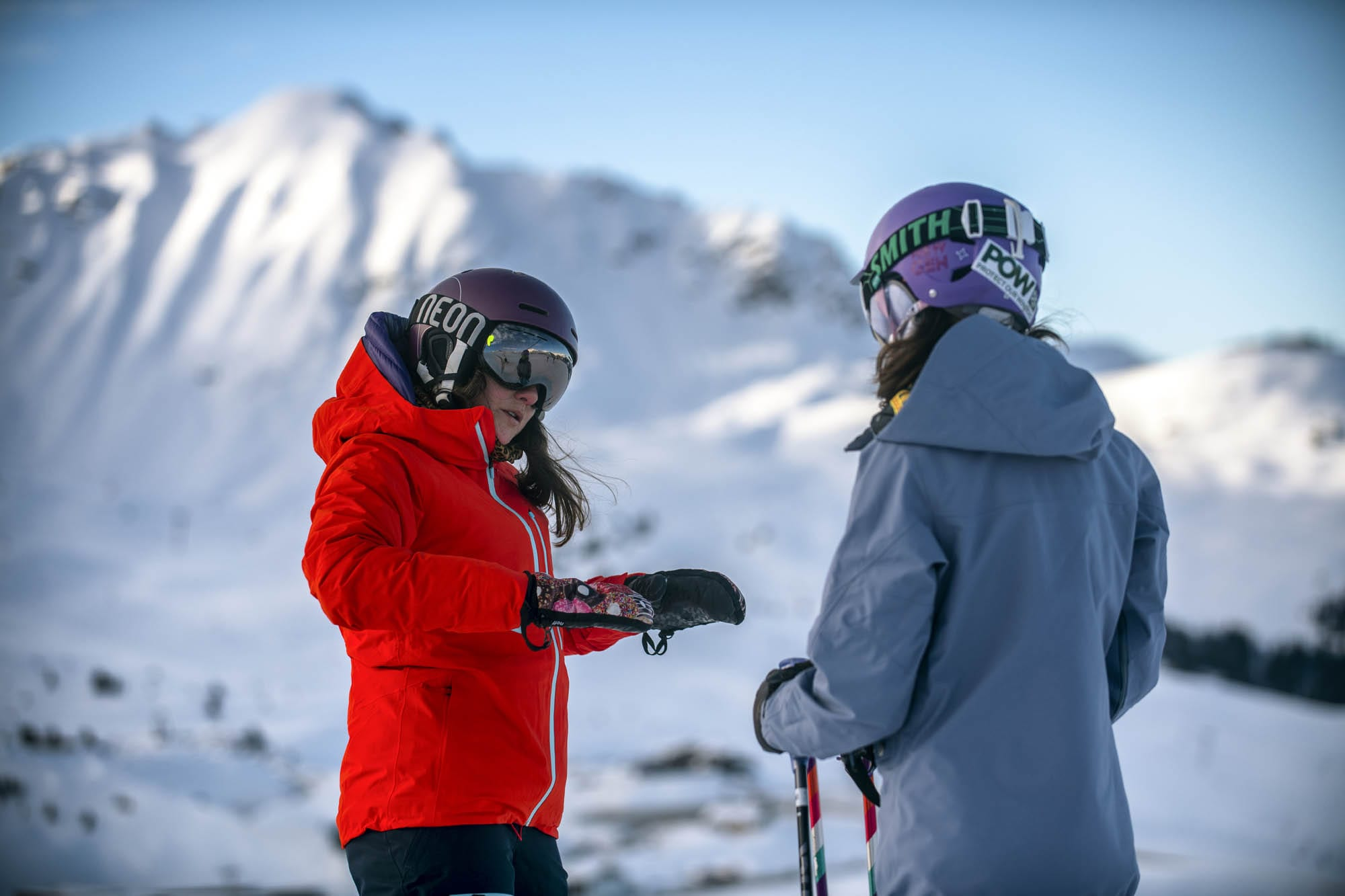 Learning to ski - learn how to ski - ski lessons for beginners