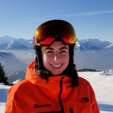 Polly Caley - Villars Ski Instructor