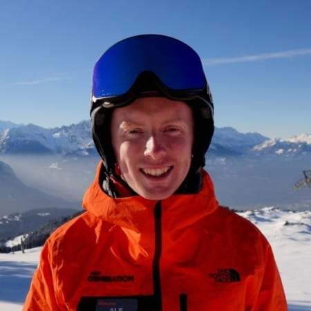 Sam Morrey - Villars Ski Instructor