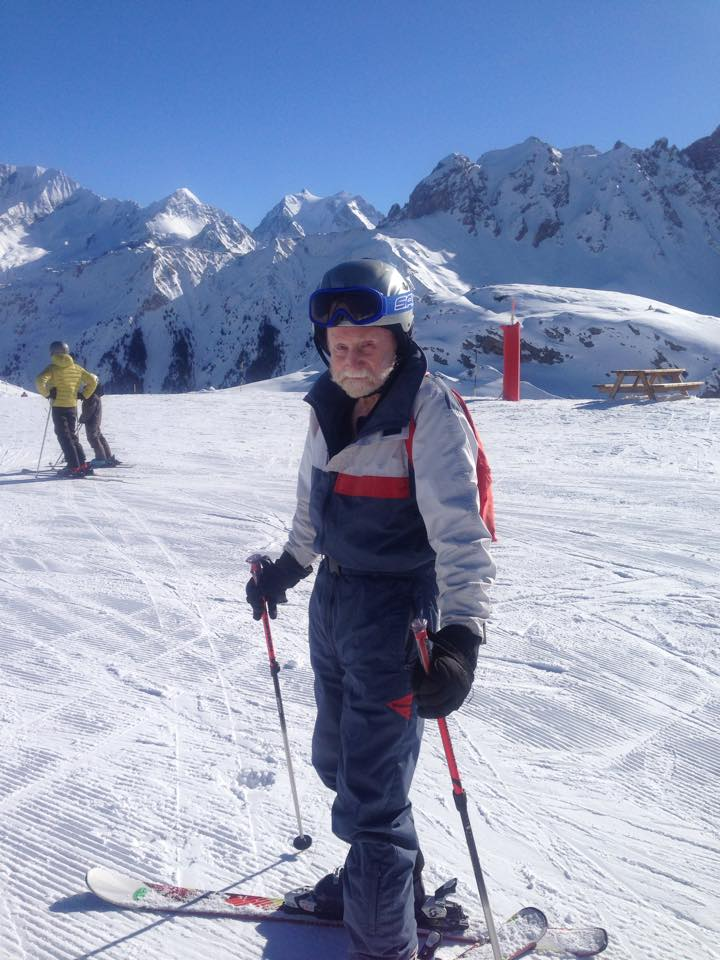 Skiing in Courchevel