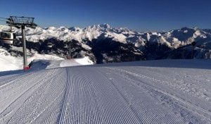 Courchevel piste