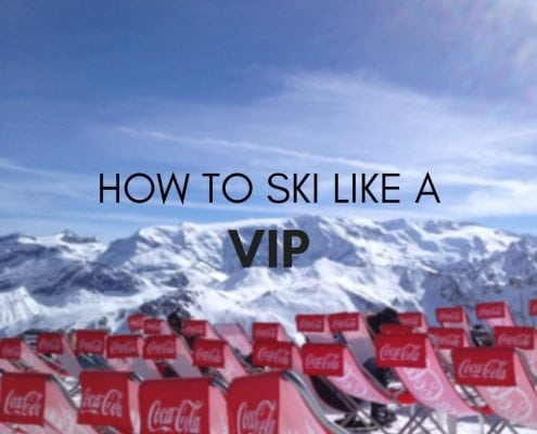 how to ski like a vip