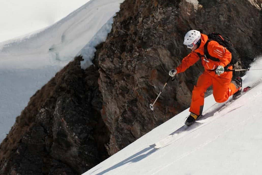 how to telemark