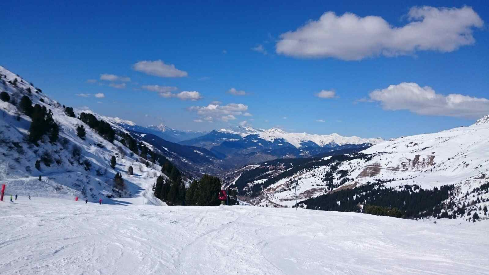 meribel snow report