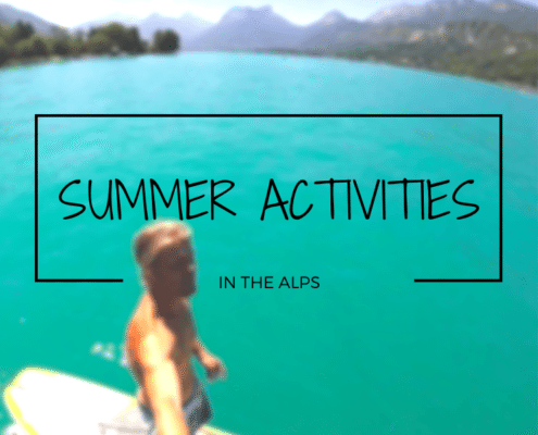 summer activities in the alps