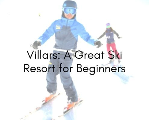 villars_ a great ski resort for beginners
