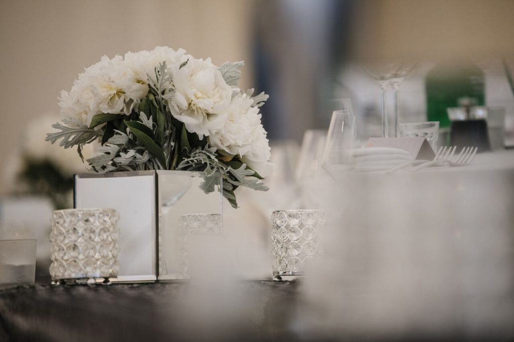 wedding breakfast decor ever after's bouquet vase