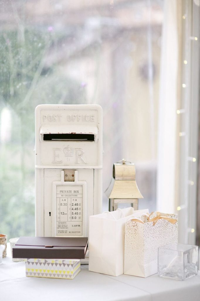 arrival and ceremony blog post ever after's post box