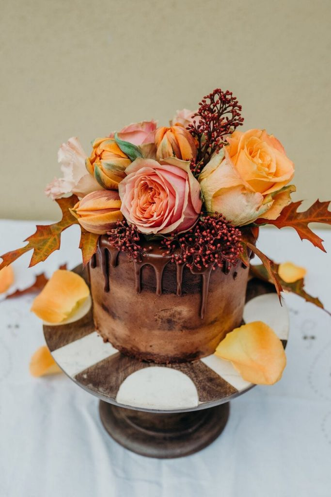 more cake elopement wedding cake inspiration ever after blog chocolate cake