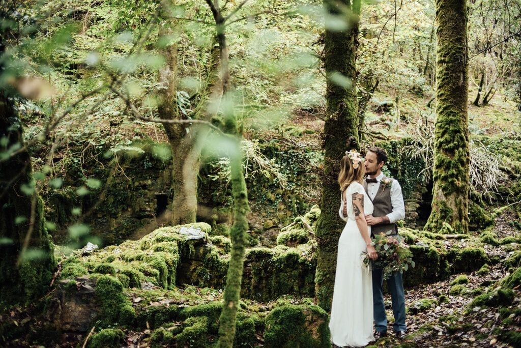 elopement feature real wedding leanne and sam