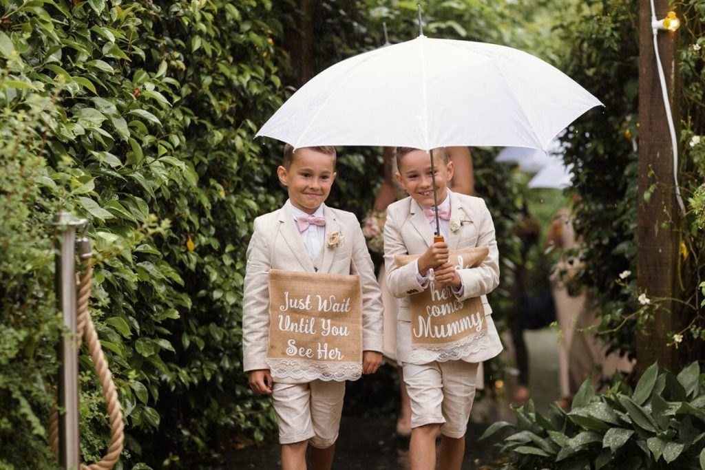 flower girls ever after blog post page boys down the aisle