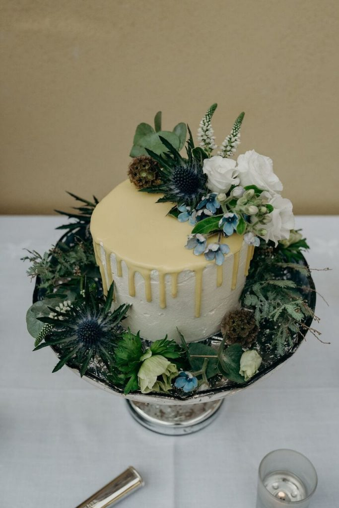 more cake elopement wedding cake inspiration ever after blog dripping icing effect
