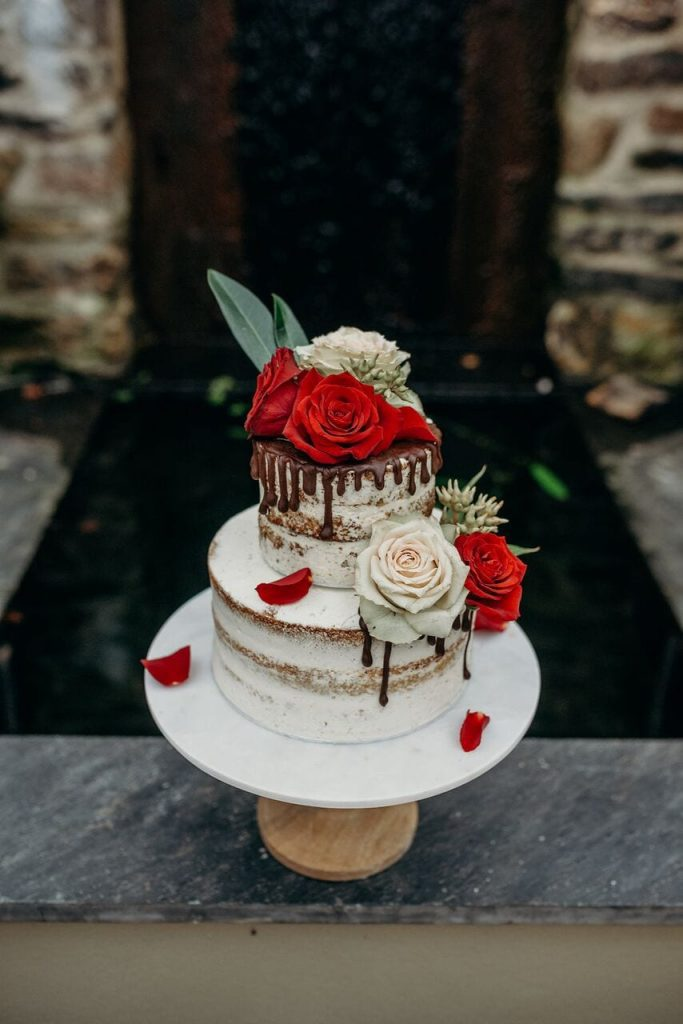 more cake elopement wedding cake inspiration ever after blog dripping effect