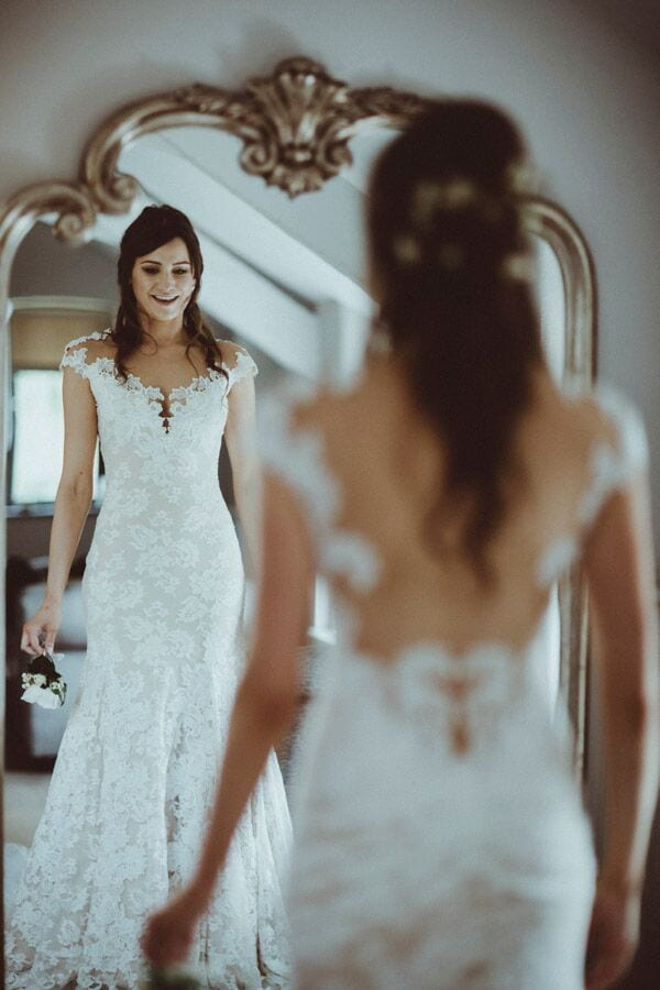 the dress blog post ever after bride firs look