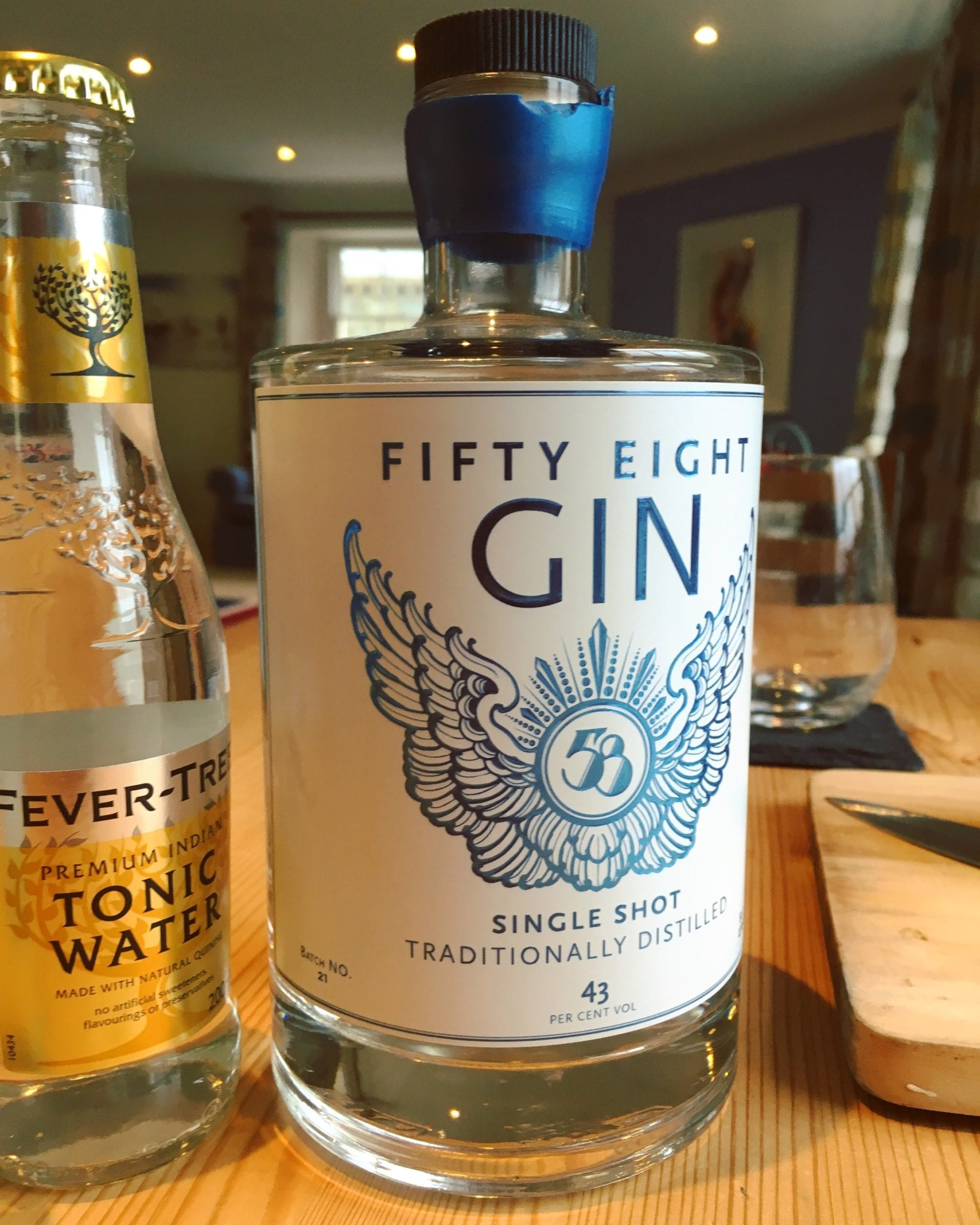 fifty eight gin featured image