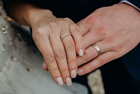 Rings, just married, bling, diamonds, engaged, marriage, vows, ceremony